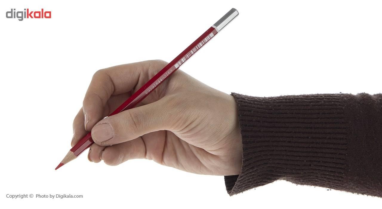 مداد قرمز پنتر مدل BP107  بسته 12 عددی main 1 6