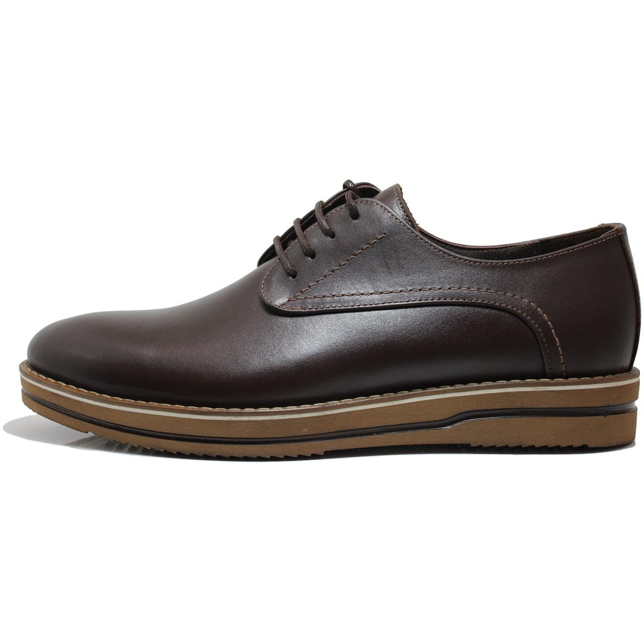 کفش مردانه چرم طبیعی  ژست مدل 1102