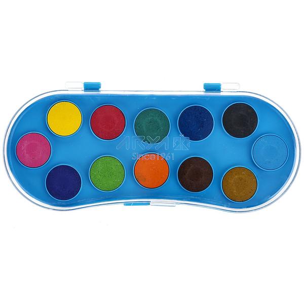 آبرنگ 12 رنگ آریا کد 2-5003