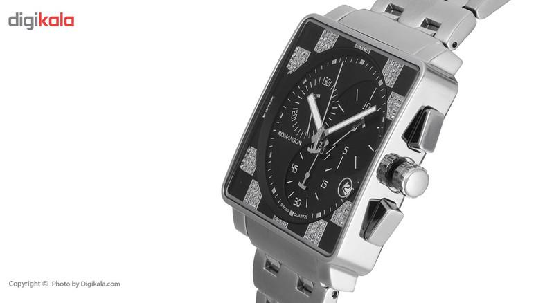 ساعت مچی عقربه ای مردانه رومانسون مدل TM9202HM1WA32W