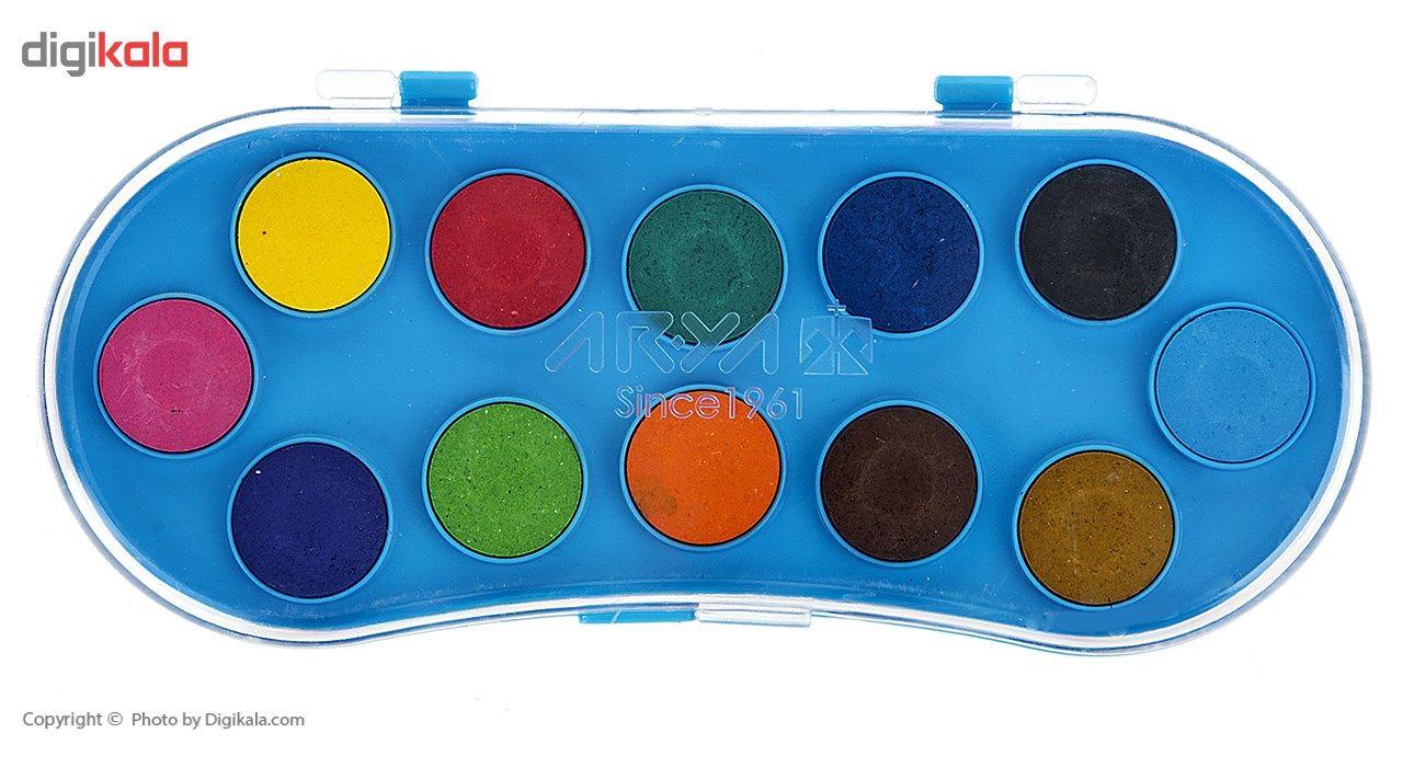 آبرنگ 12 رنگ آریا کد 2-5003 main 1 1