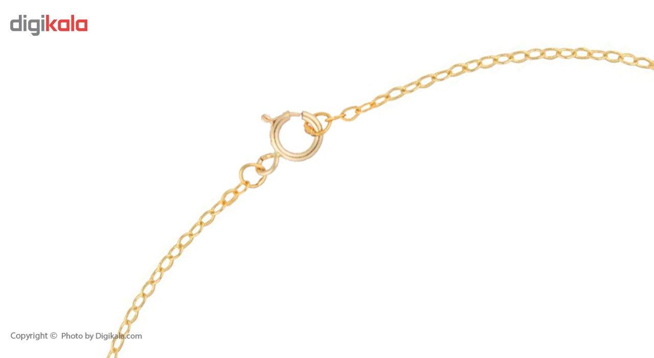 پابند طلا 18 عیار ماهک مدل MA0084 -  - 1