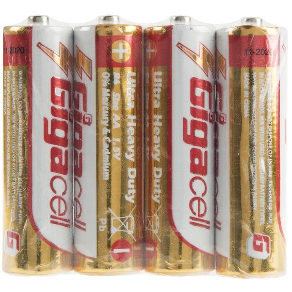 باتری قلمی گیگاسل مدل Ultra Heavy Duty بسته 4 عددی