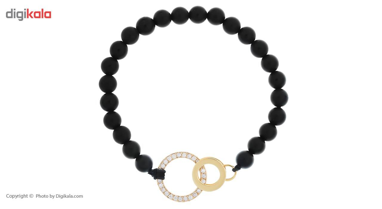 دستبند طلا 18 عیار ماهک مدل MB0306 - مایا ماهک -  - 2