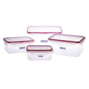 ظروف نگهداری سعید پلاستیک مدل Pana بسته 4 عددی