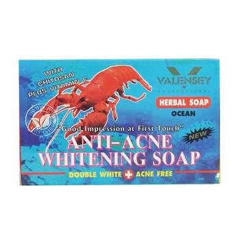 صابون ضد آکنه والنسی حاوی عصاره میگو مقدار 70 گرم