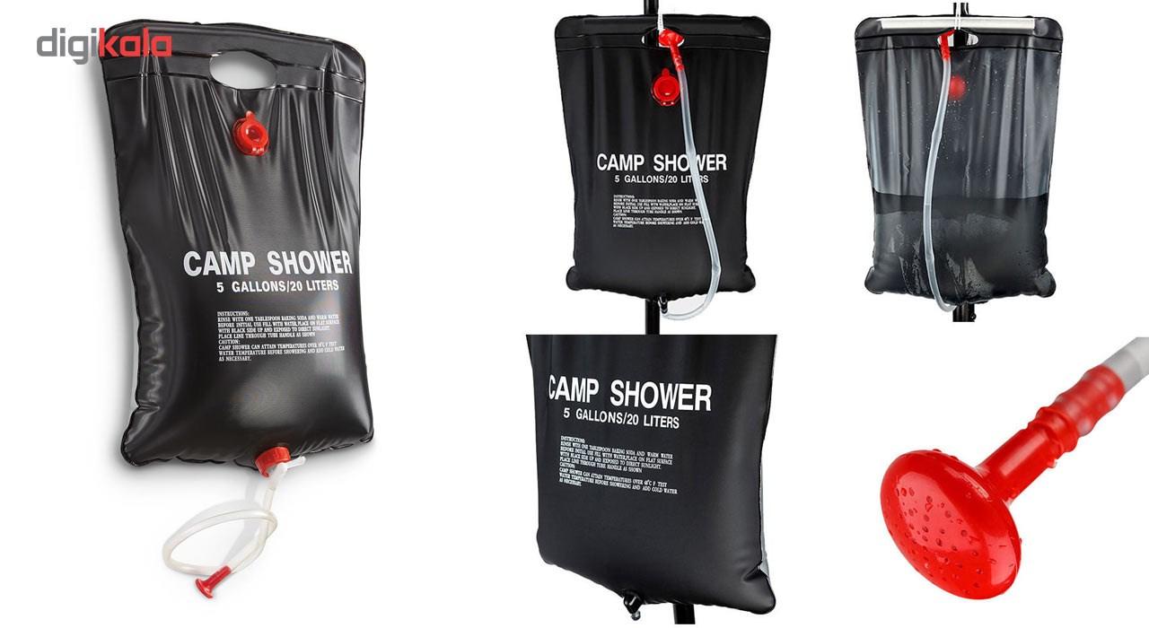 دوش سفري مدل Camp Shower ظرفيت 20 ليتر