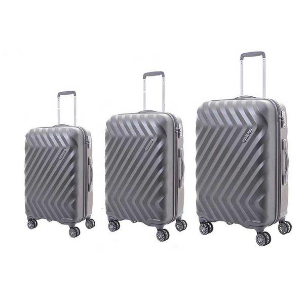 مجموعه سه عددی چمدان امریکن توریستر مدل zavis I25