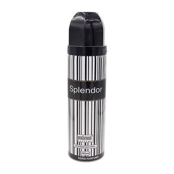 اسپری مردانه سریس مدل Splend0r Black حجم 200 میلی لیتر