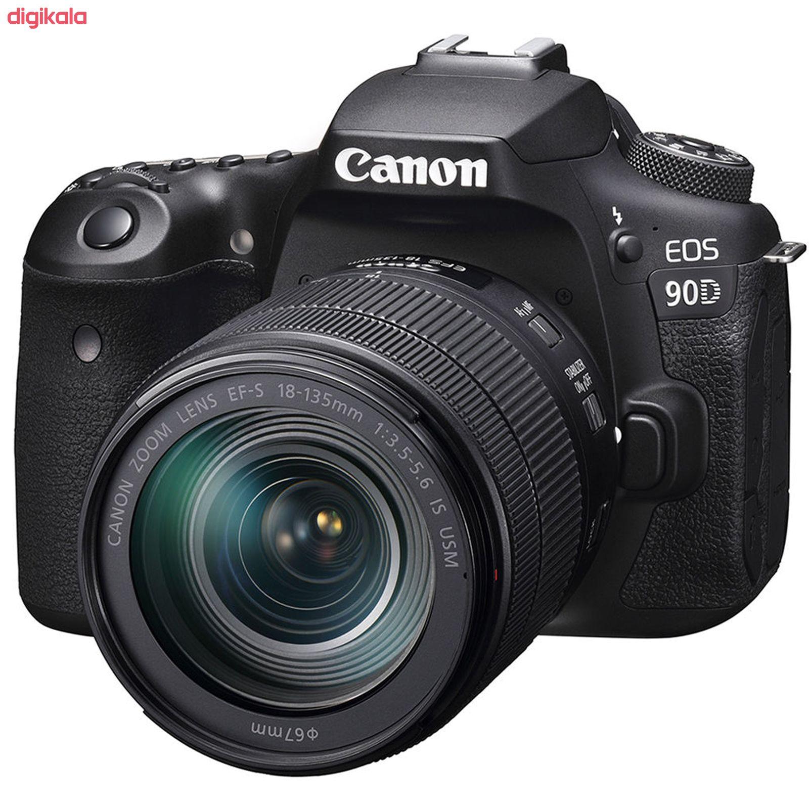 دوربین دیجیتال کانن مدل EOS 90D به همراه لنز 135-18 میلی متر IS USM main 1 2