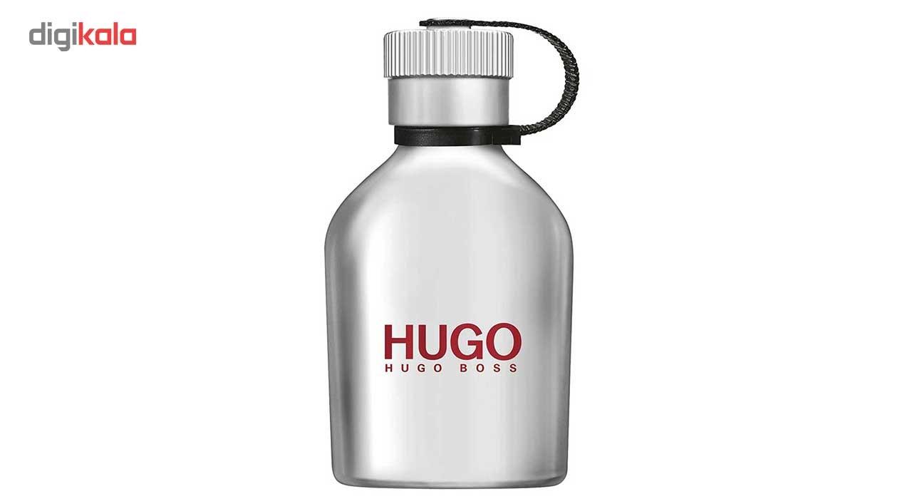 ادو تویلت مردانه باس مدل  Hugo Iced حجم 125ml