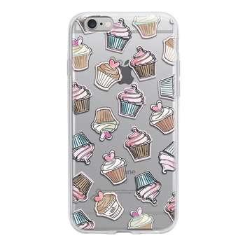 کاور ژله ای وینا مدل Cupcake مناسب برای گوشی موبایل آیفون 6/6s