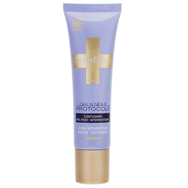 کرم ترمیم کننده لایه سطحی پوست درمدن مناسب روز و شب حجم 30 میلی لیتر