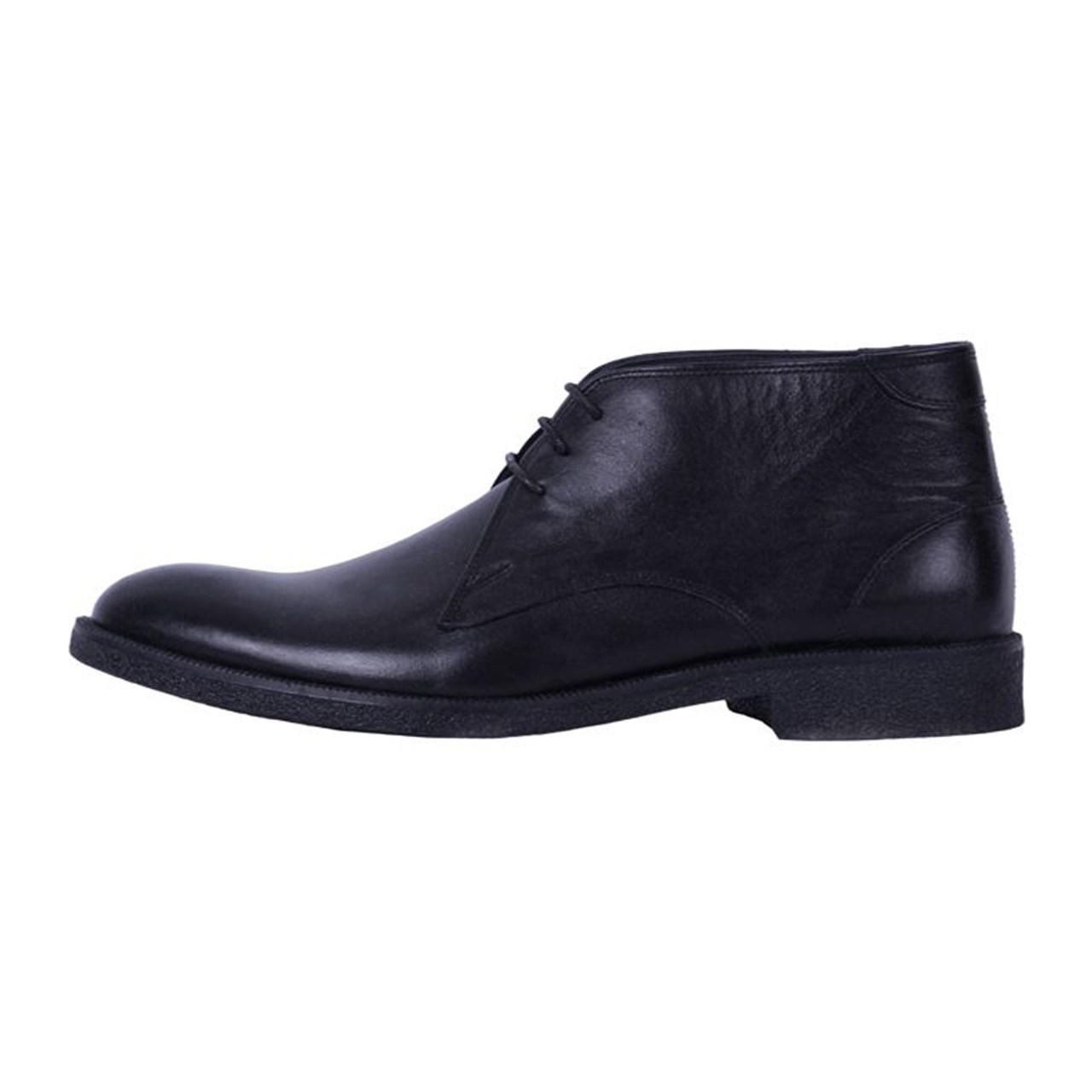 کفش چرم مهاجر مردانه مدل M12m
