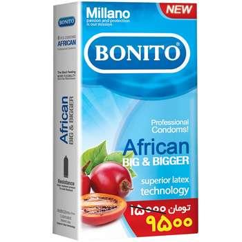 کاندوم بونیتو مدل African بسته 6 عددی