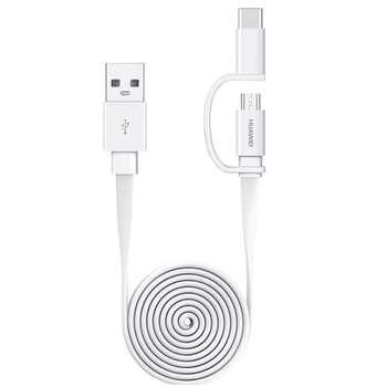 کابل تبدیل USB به microUSB/USB-C مدل AP55S طول 1.5 متر