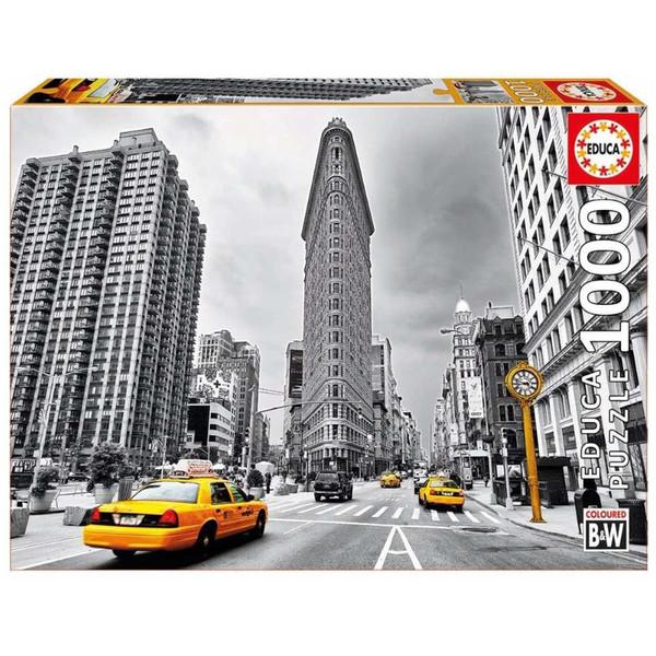 پازل 1000 تکه ادوکا مدل Flatiron Building New York