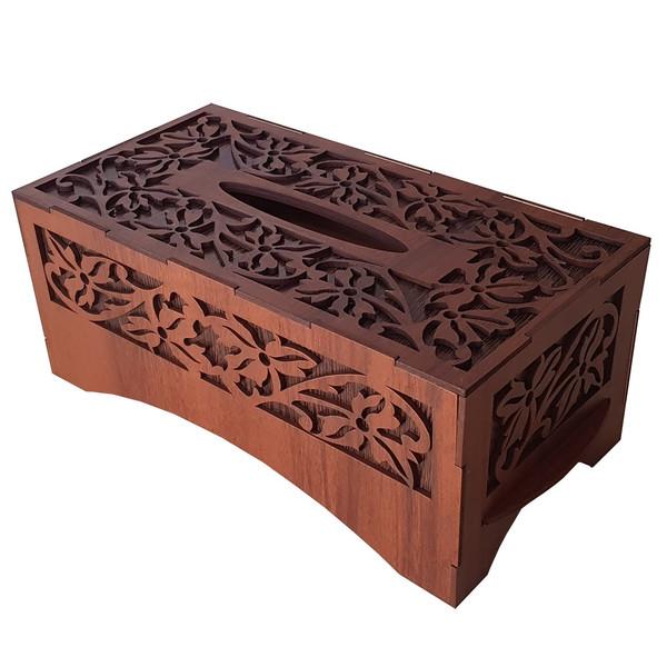 جعبه دستمال کاغذی کد N100