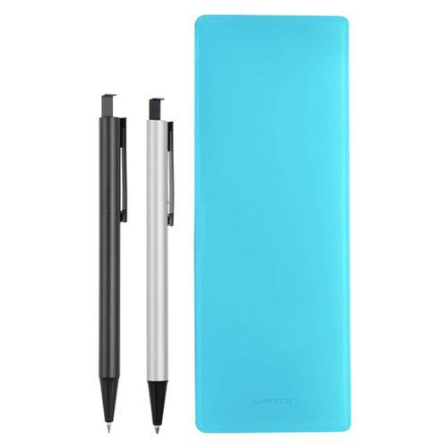 ست خودکار مدادنوکی و جامدادی لاتن مدل Light Blue