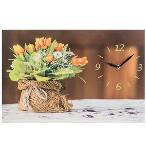 ساعت دیواری مدل Bunch Of Flowers