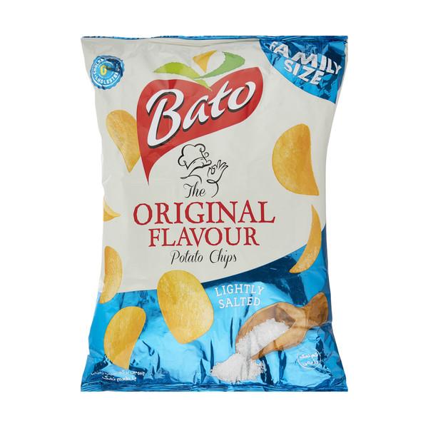 چیپس سیب زمینی با طعم نمک باتو  - 450 گرم