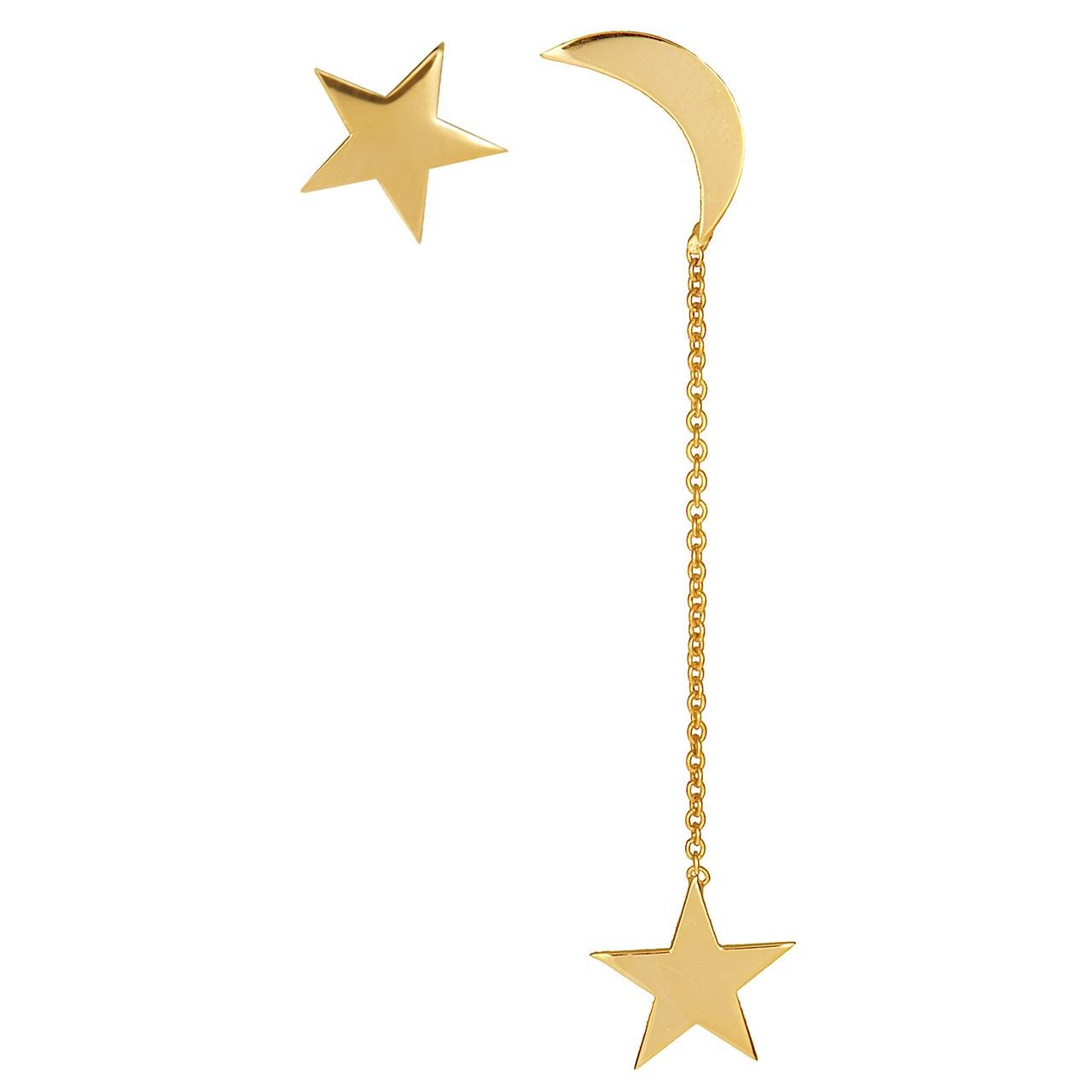 قیمت گوشواره طلا 18 عیار ماهک مدل ME0592