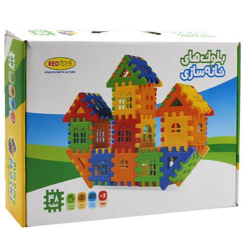 بازی ساختنی رد تویز مدل بلوک های خانه سازی