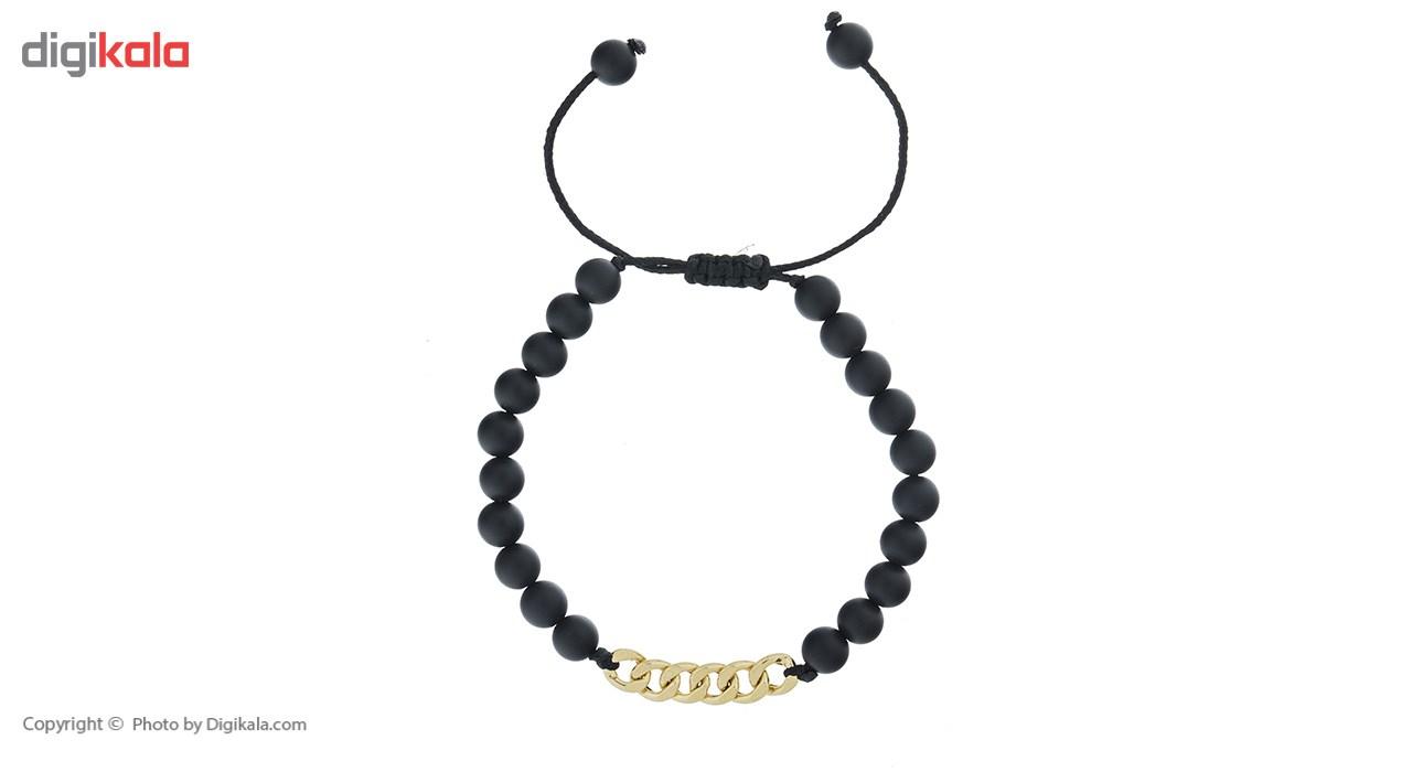 دستبند طلا 18 عیار ماهک مدل MB0436 - مایا ماهک -  - 2
