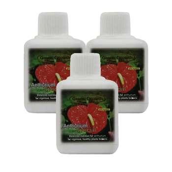 کود مایع گل آنتوریوم گرین گروت بسته 3 عددی