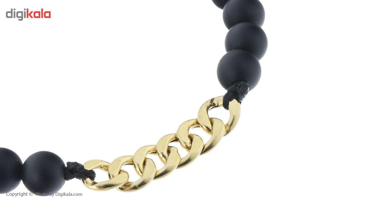 دستبند طلا 18 عیار ماهک مدل MB0436 - مایا ماهک -  - 3