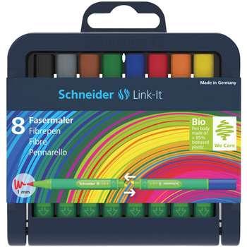 ماژیک رنگ آمیزی 8 رنگ اشنایدر مدل Link-It