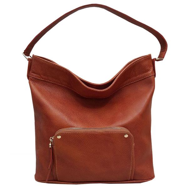 کیف دوشی زنانه  چرم آنیل مدل arshida