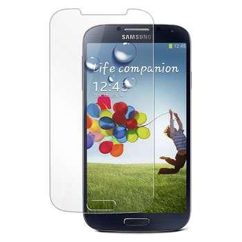 محافظ صفحه نمایش شیشه ای مدل Tempered مناسب برای گوشی موبایل سامسونگ Galaxy S4