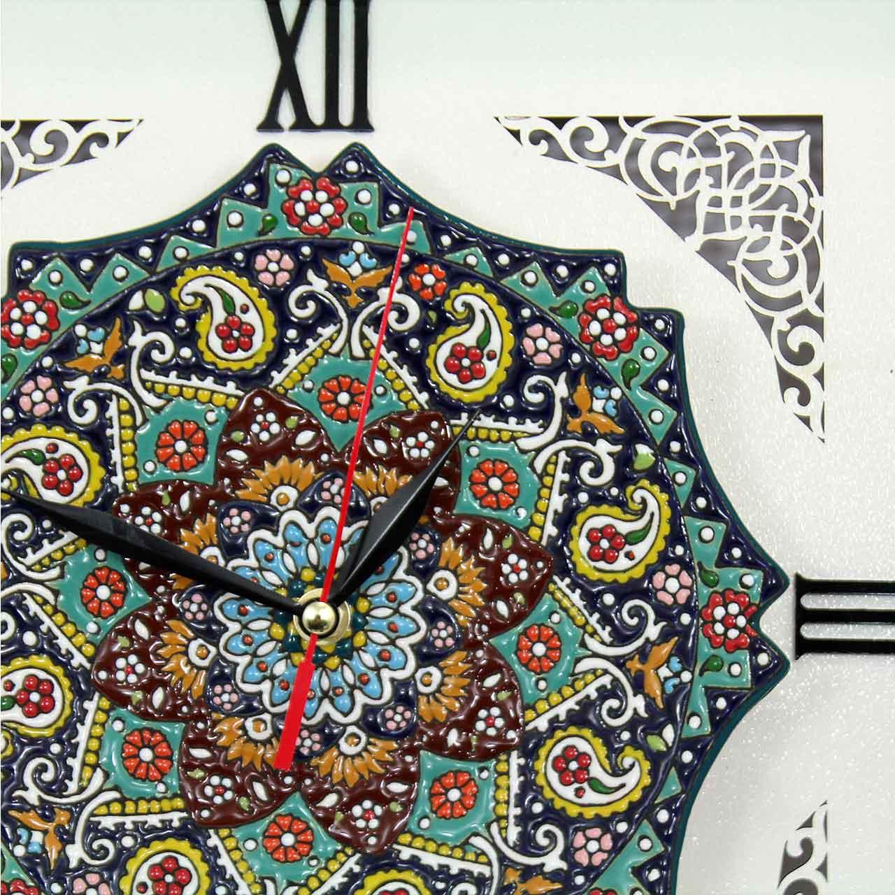 خرید                      ساعت دیواری دست نگار کد 20-12