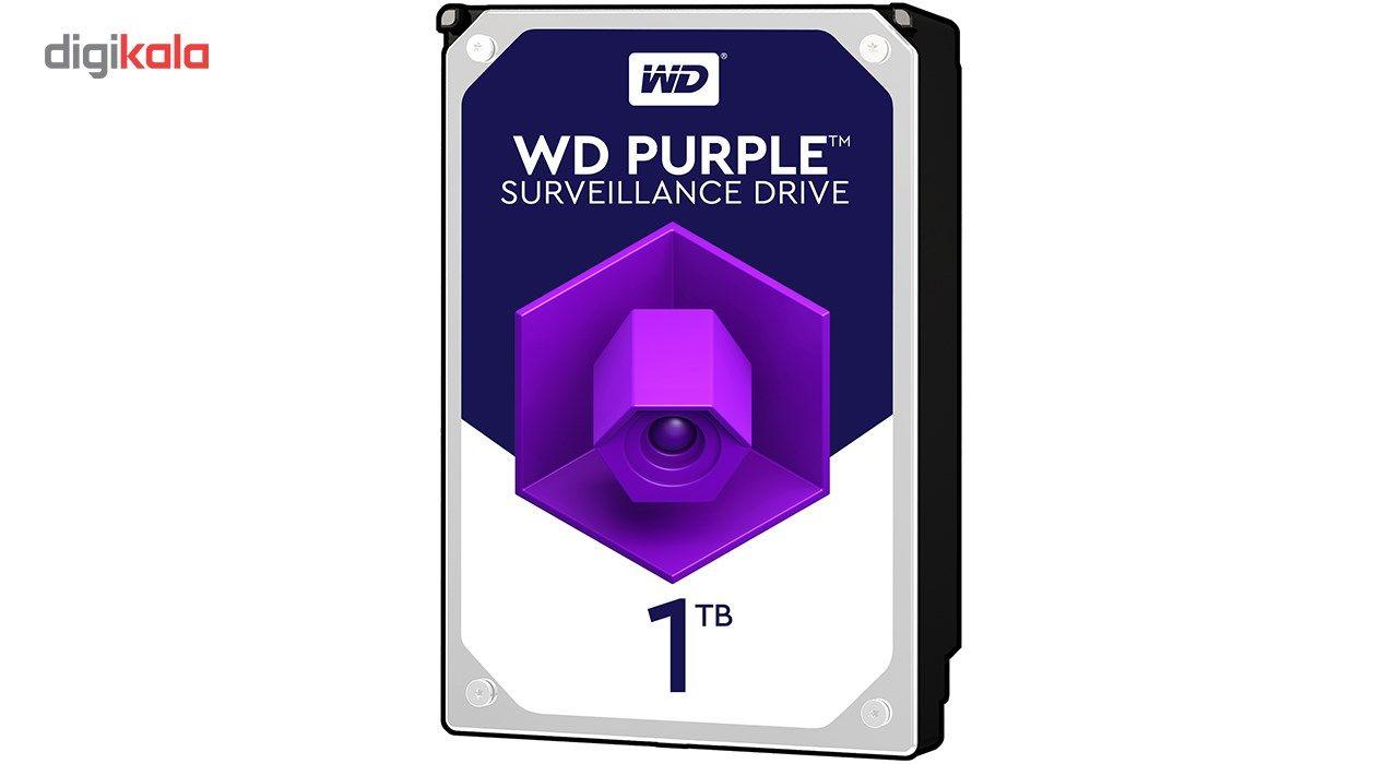 هارددیسک اینترنال وسترن دیجیتال مدل Purple WD10PURX ظرفیت 1 ترابایت main 1 1