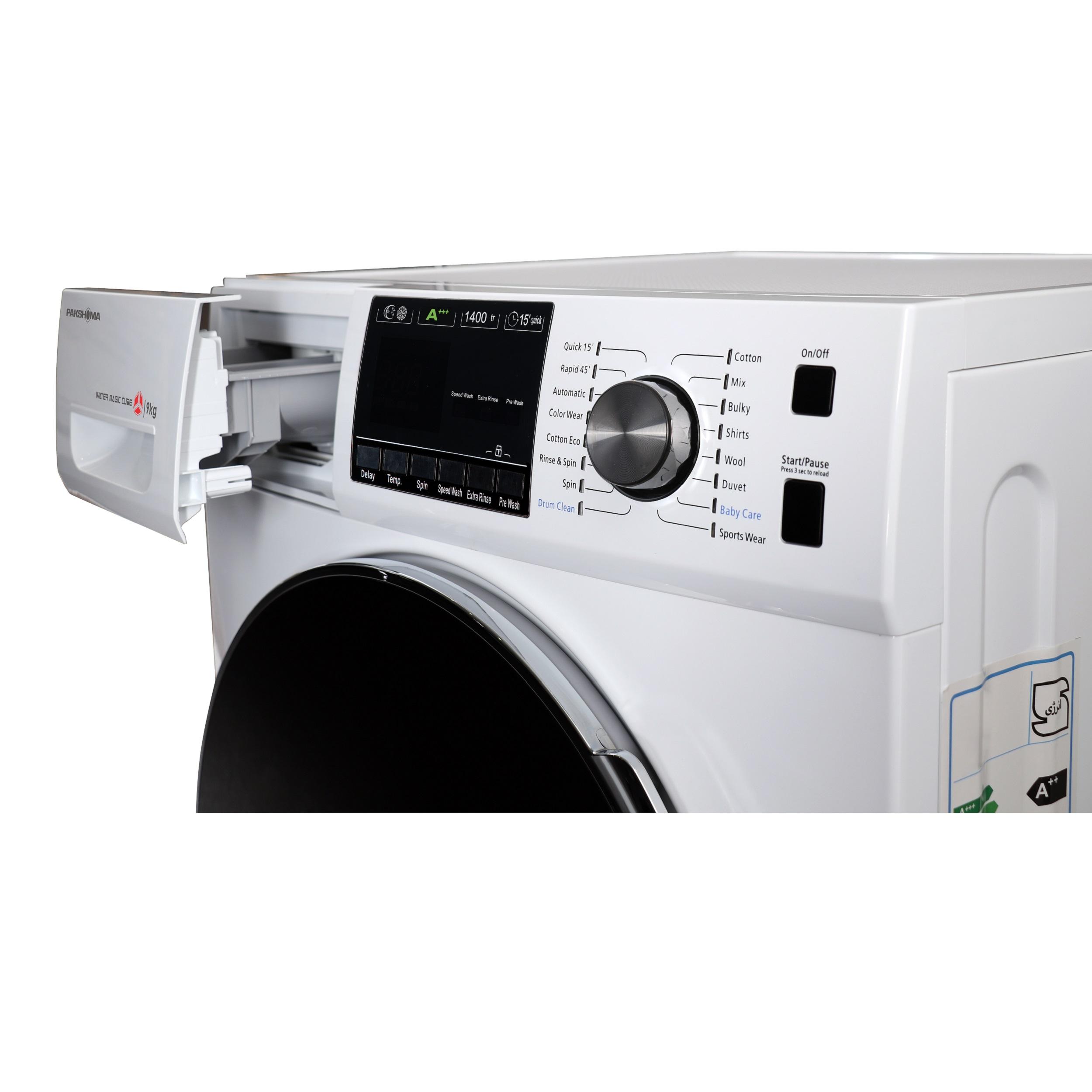 ماشین لباسشویی پاکشوما مدل TFU-94407 ظرفیت 9 کیلوگرم main 1 6
