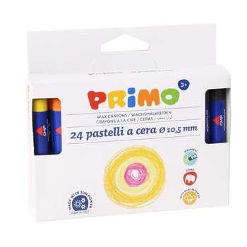 پاستل 24 رنگ پریمو مدل 052PC24I