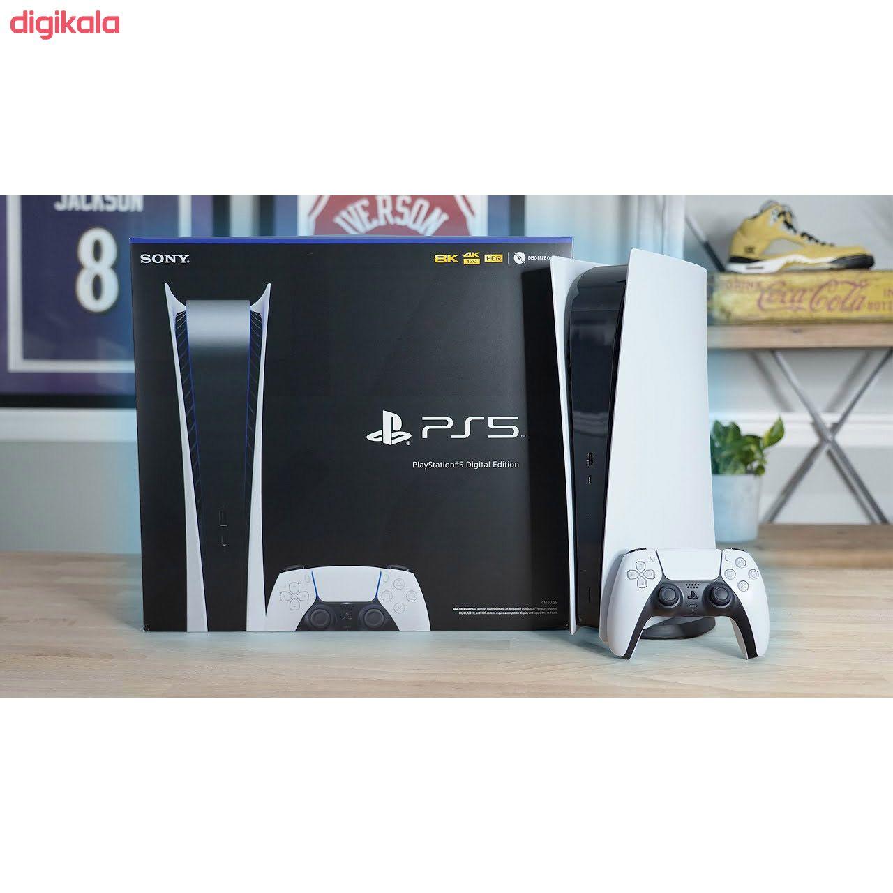 کنسول بازی سونی مدل Playstation 5 Digital Edition ظرفیت 825 گیگابایت main 1 7