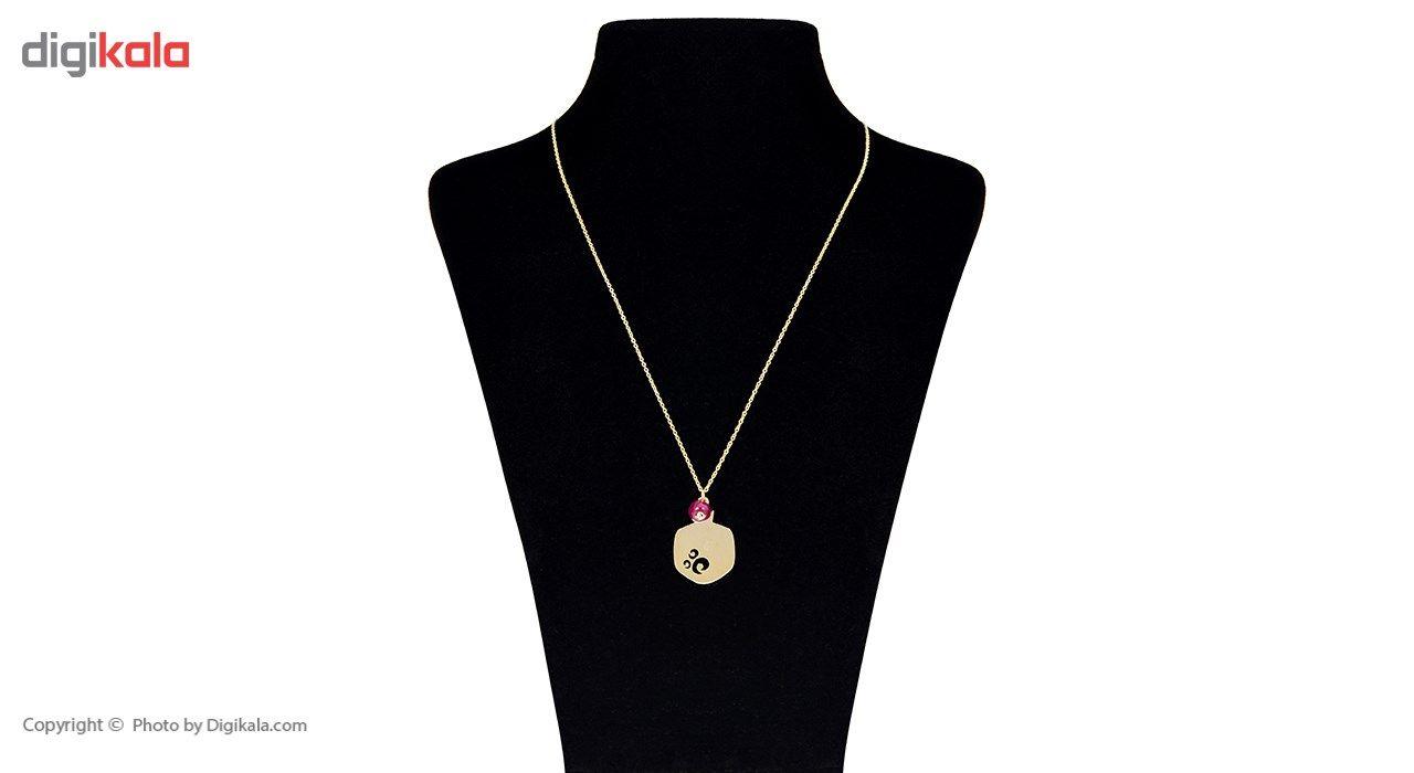 گردنبند طلا 18 عیار ماهک مدل MM0601 - مایا ماهک -  - 1