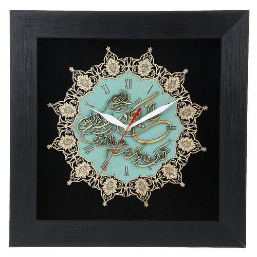 ساعت معرق دی ان دی طرح خوشنویسی و ان یکاد کد TJ 021