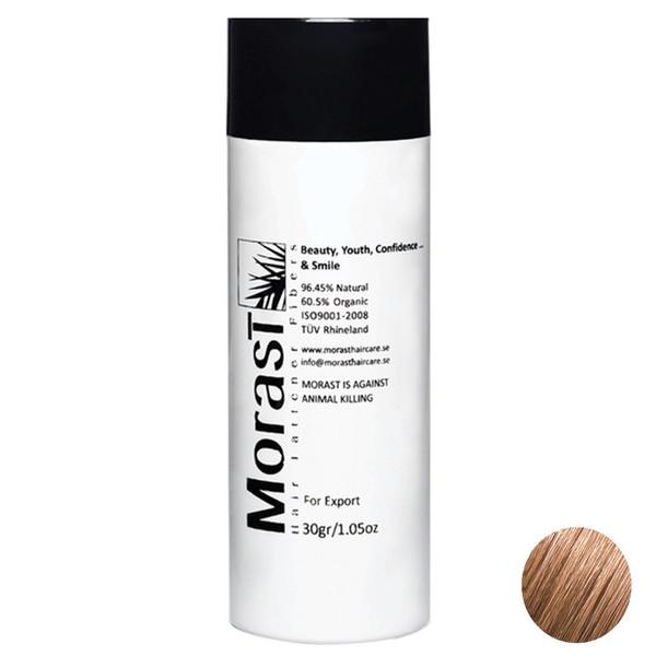 پودر پرپشت کننده موی مورست مدل Light Brown مقدار 30 گرم