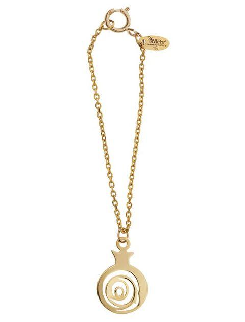 آویز ساعت طلا 18 عیار ماهک مدل MW0068 -  - 2