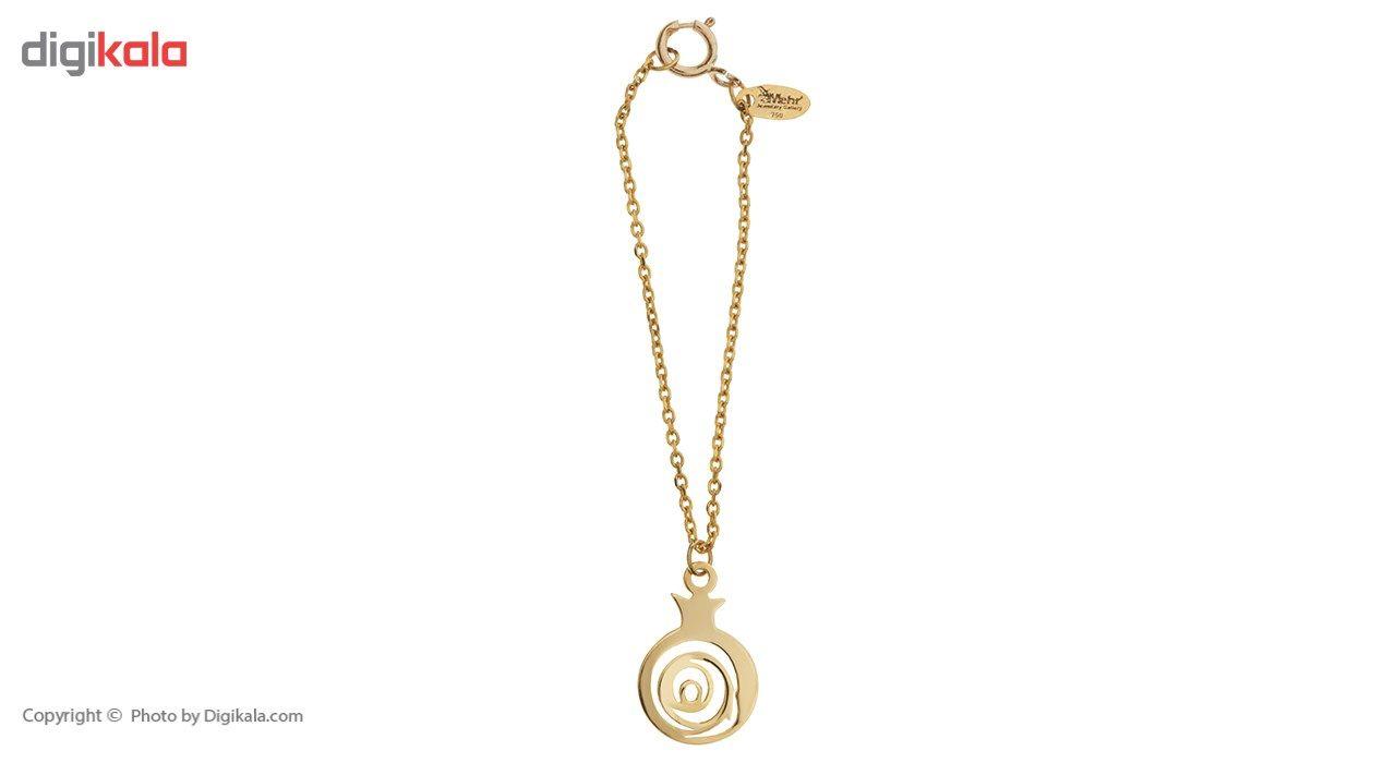آویز ساعت طلا 18 عیار ماهک مدل MW0068 - مایا ماهک -  - 2