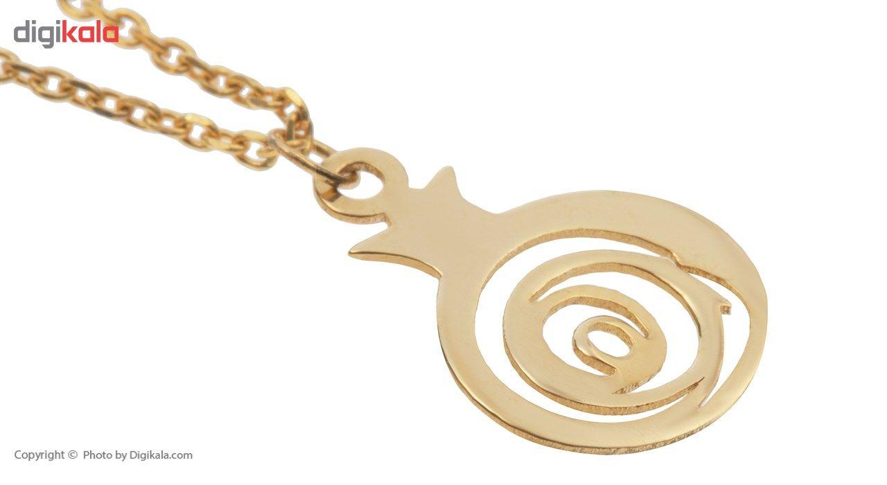 آویز ساعت طلا 18 عیار ماهک مدل MW0068 - مایا ماهک -  - 3
