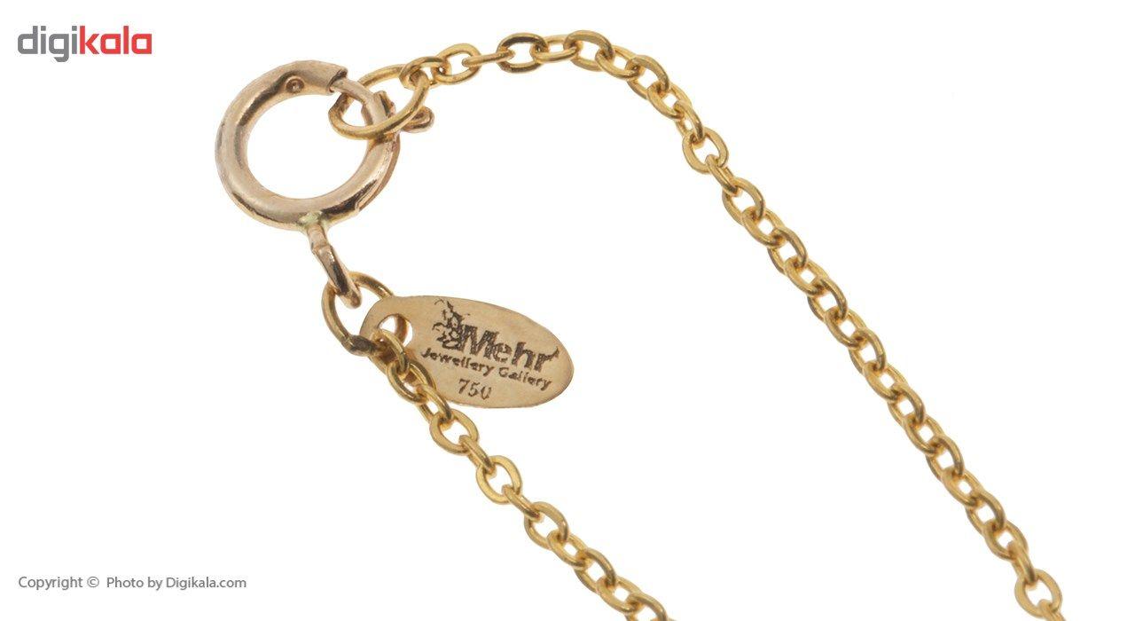 آویز ساعت طلا 18 عیار ماهک مدل MW0068 - مایا ماهک -  - 1