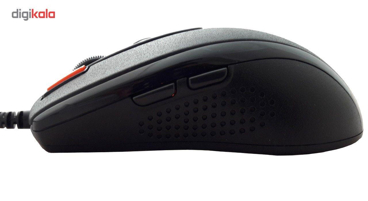 ماوس مخصوص بازی ای فورتک مدل X-710BK main 1 3