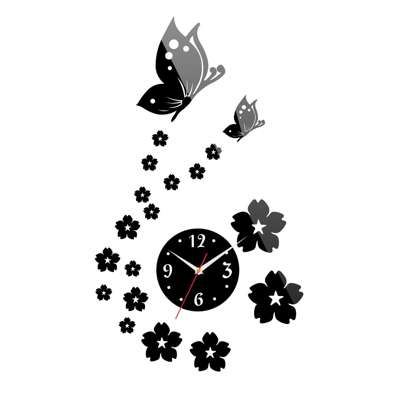 خرید ساعت دیواری پدیده شاپ طرح بهار