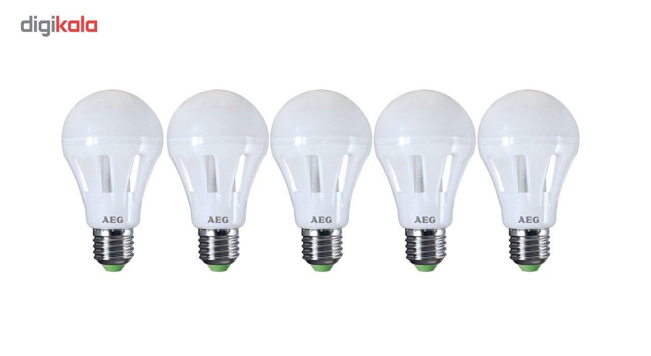 لامپ ال ای دی 8 وات آاگ مدل LK-N800 پایه E27  بسته 5 عددی main 1 1