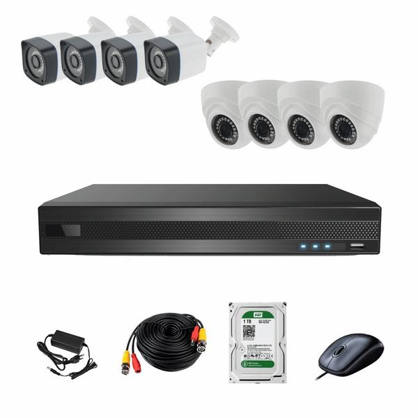 سیستم امنیتی ای اچ دی فوتون کاربری مسکونی فروشگاهی 8 دوربین