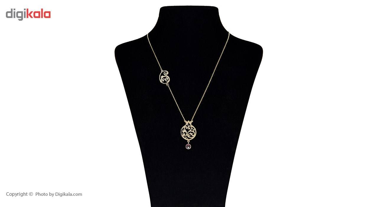 گردنبند طلا 18 عیار ماهک مدل MM0606 - مایا ماهک -  - 1